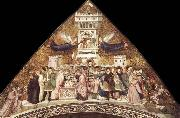 GIOTTO di Bondone Allegory of Chastity oil painting picture wholesale
