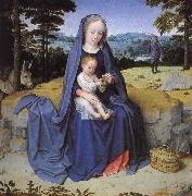Gerard David Vila during the flight to Egypt oil painting picture wholesale