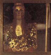 Gustav Klimt Pallas Athena oil painting picture wholesale