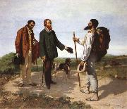Gustave Courbet Bonjour Monsieur Courbet oil painting picture wholesale