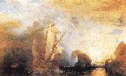 J.M.W. Turner Ulysses Deriding Polyphemus oil painting reproduction