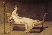 Jacques-Louis David Madame Recamier oil painting picture wholesale