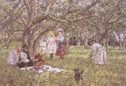 James Charles The Picnic oil painting artist