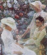 Jan Toorop Three Women with Flowers oil painting picture wholesale