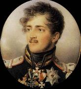 Jean Baptiste Isabey Prince August of Prussia oil painting