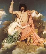 Jean-Auguste Dominique Ingres Thetis bonfaller Zeus oil painting picture wholesale