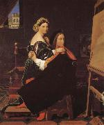 Jean-Auguste Dominique Ingres Lafier and Finali oil painting picture wholesale