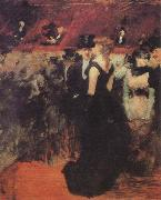 Jean-Louis Forain Ball at the Paris Opera oil painting picture wholesale