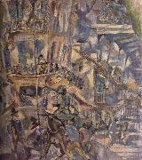 Jules Pascin View by Balcony oil painting picture wholesale