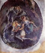 Jules Pascin Three younger girl oil painting picture wholesale