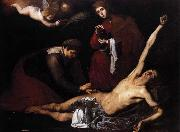 Jusepe de Ribera St Sebastian Tended by the Holy Women oil painting artist