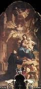 Kracker, Johann Lucas Appearance of the Virgin to St Anthony oil painting picture wholesale