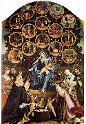 Lorenzo Lotto Madonna of the Rosary oil painting picture wholesale