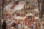 Luca Signorelli Sermon and Deeds of the Antichrist oil painting picture wholesale