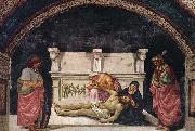 Luca Signorelli Lamentation over the Dead Christ with Sts Parenzo and Faustino oil painting picture wholesale