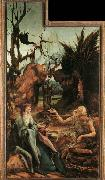 Matthias  Grunewald Sts Paul and Antony in the Desert oil painting picture wholesale