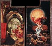 Matthias  Grunewald Annunciation and Resurrection oil painting picture wholesale