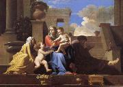 Nicolas Poussin The Holy Family on the Steps oil painting picture wholesale