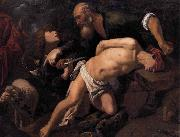 ORRENTE, Pedro The Sacrifice of Isaac oil