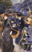 Pierre-Auguste Renoir Les Parapluies oil painting picture wholesale