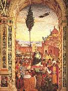 Pinturicchio Aeneas Piccolomini Arrives to Ancona oil painting picture wholesale