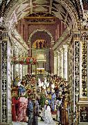 Pinturicchio Aeneas Piccolomini Crowned as Pope oil painting picture wholesale