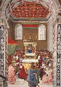 Pinturicchio Piccolomini Receives the Cardinal Hat oil painting picture wholesale