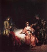 Rembrandt Harmensz Van Rijn Joseph is accused of Potifars wife oil painting picture wholesale