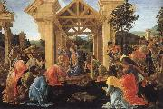 Sandro Botticelli Konungarnas worship oil painting picture wholesale