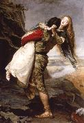 Sir John Everett Millais The crown of love oil painting picture wholesale