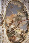 TIEPOLO, Giovanni Domenico The Apotheosis of the Spanish Monarchy oil painting picture wholesale