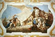 TIEPOLO, Giovanni Domenico The Judgment of Solomon oil painting picture wholesale