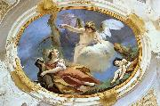 TIEPOLO, Giovanni Domenico Hagar in the Wilderness oil painting reproduction