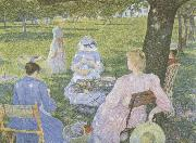 Theo Van Rysselberghe Family in an Orchard oil painting picture wholesale