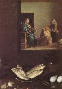 VELAZQUEZ, Diego Rodriguez de Silva y Detail of Jesus in the Mary-s home oil painting picture wholesale