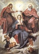 VELAZQUEZ, Diego Rodriguez de Silva y Virgin Mary wearing the coronet oil painting picture wholesale