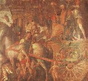 unknow artist Caesar-s Chariot From the triumph of caesar Mantegna oil painting picture wholesale