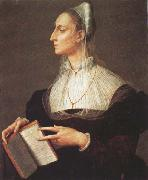 Agnolo Bronzino Laura Battiferri (mk45) oil
