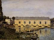 Alfred Sisley The Machine at Marly oil
