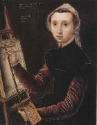 Catharina Van Hemessen Self-Portrait oil painting picture wholesale