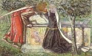 Dante Gabriel Rossetti Arthur's Tomb (mk46) oil painting picture wholesale