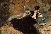 Edouard Manet Woman with Fans(Nina de Callias) oil painting picture wholesale