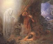 Edward Henry Corbould,RI,RWS Saul and the Witch of Endor (mk46) oil painting picture wholesale
