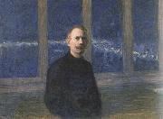 Eugene Jansson Self-Portrait oil