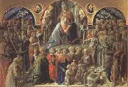 Fra Filippo Lippi Coronation of the Virgin oil painting picture wholesale