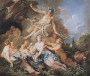 Francois Boucher Mercury confiding Bacchus to the Nymphs oil painting picture wholesale
