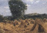 George Robert Lewis Dynedor Hill,Herefordshire (mk47) oil painting artist