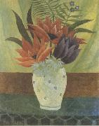 Henri Rousseau Lotus Flowers oil painting picture wholesale