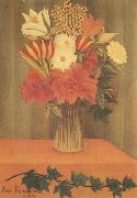 Henri Rousseau Bouquet of Flowers oil painting picture wholesale