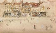 James Mcneill Whistler Chelsea Shops (mk46) oil painting artist